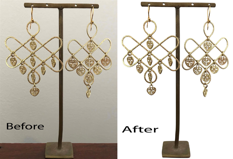 jewelry product photo editing service