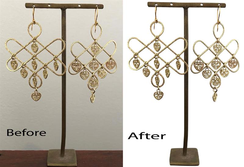 jewelry product photo editing service